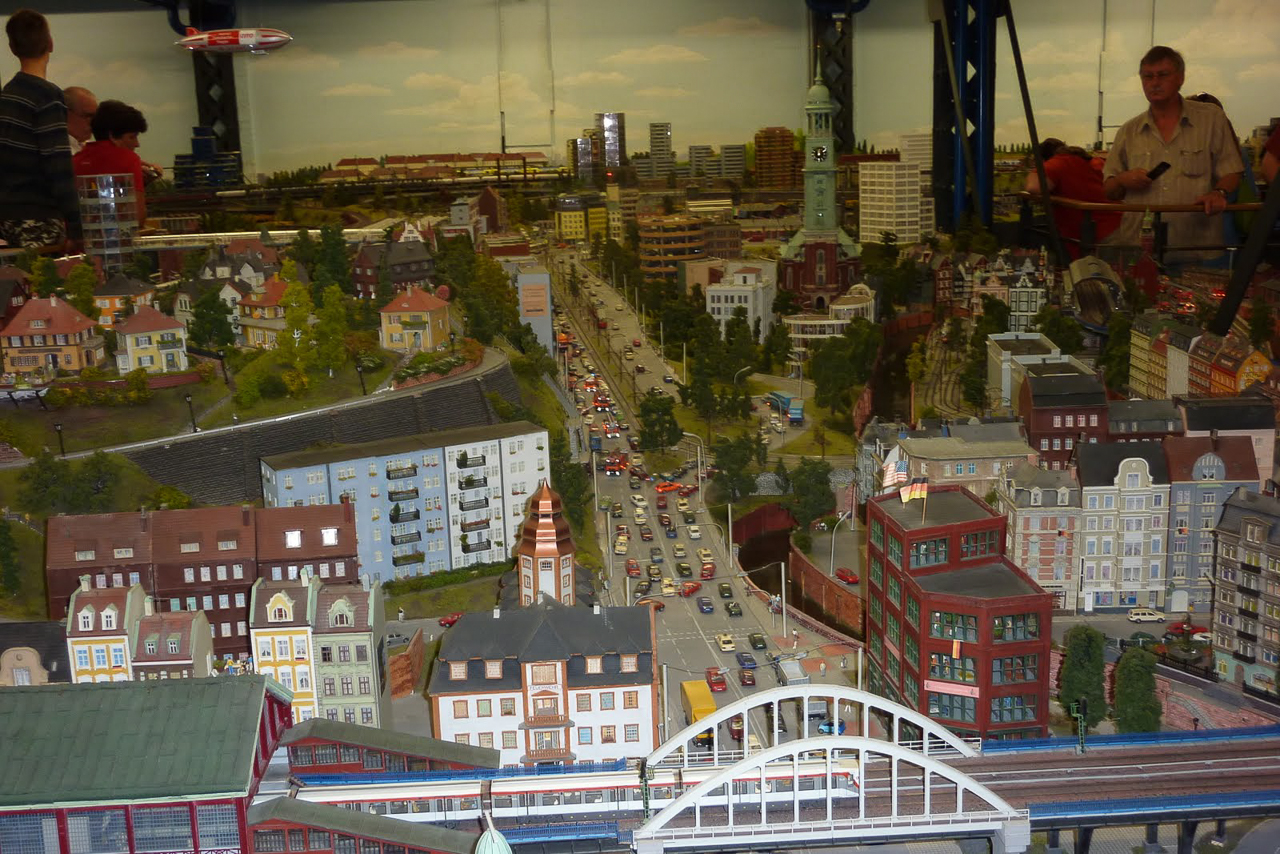 Model Train Museum in Hamburg