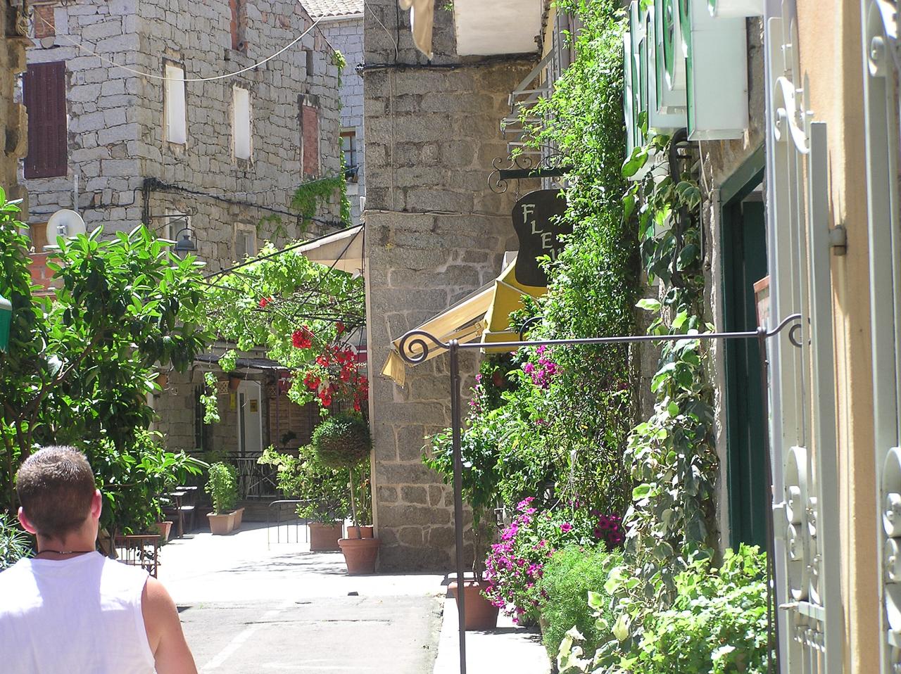 Street in Porto Vecchio