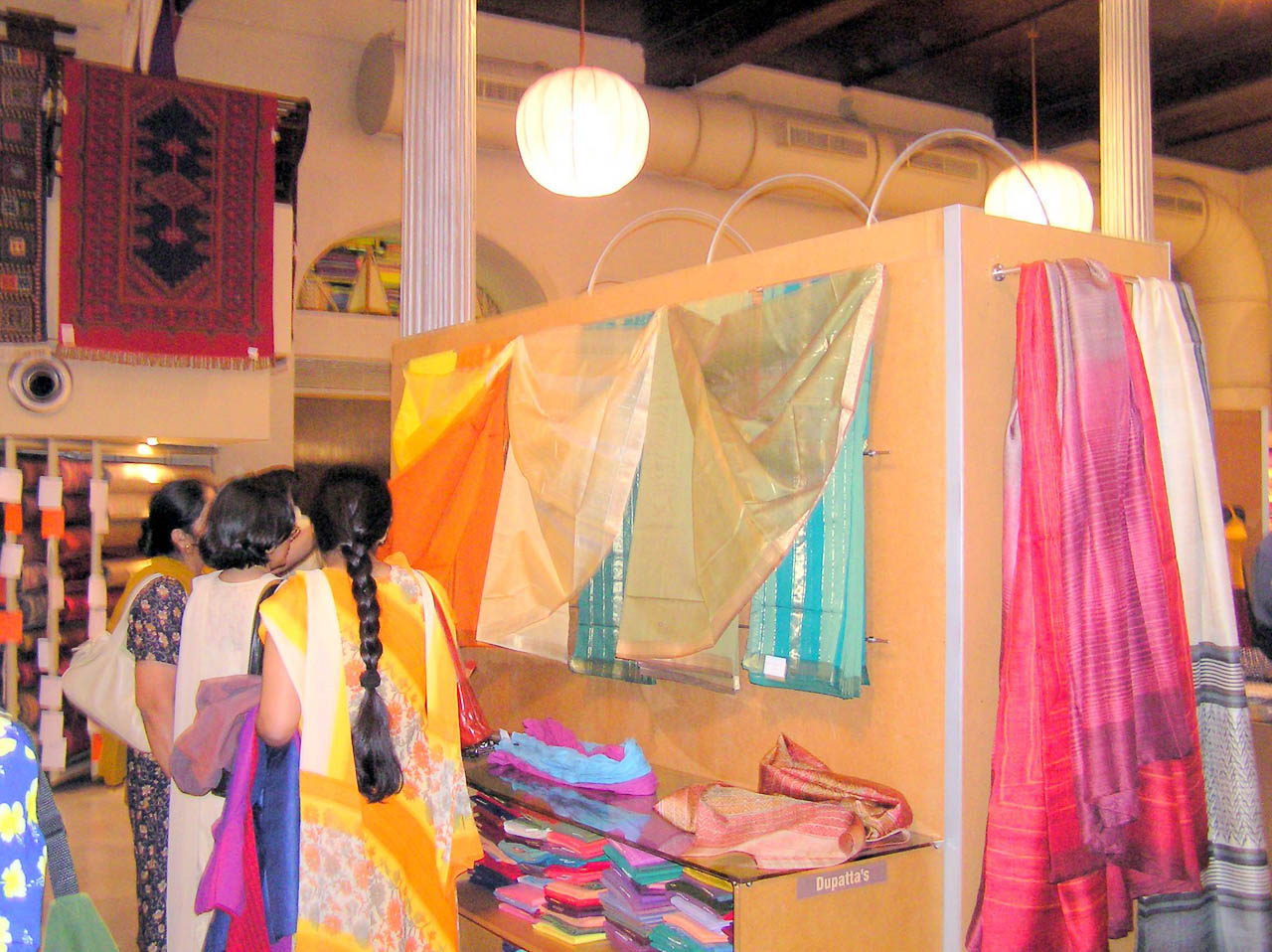 Indians Silk at Fabindia in Mumbai