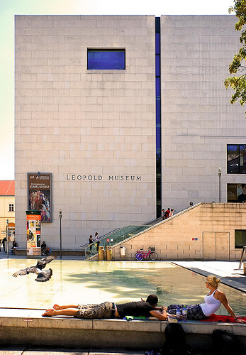 Leopald Museum, photographed by Christian Moennig