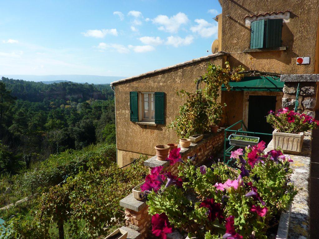 Provence Roussilon hilltop village