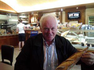 Gerard Auzet bread Cavaillon