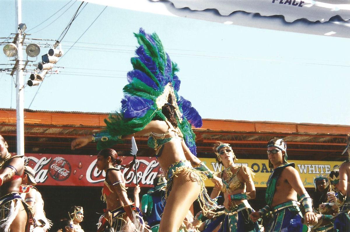 Trinidad Carnival Parade